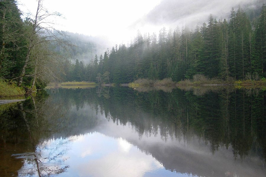 Photo Credit: Reflections in Barclay Lake. Photo by Taum Sauk.